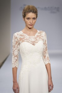 Louise Selby at the Designer Wedding Show