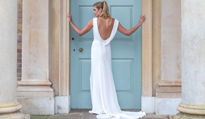 Louise Selby Wedding Dress Fulham Real Bride