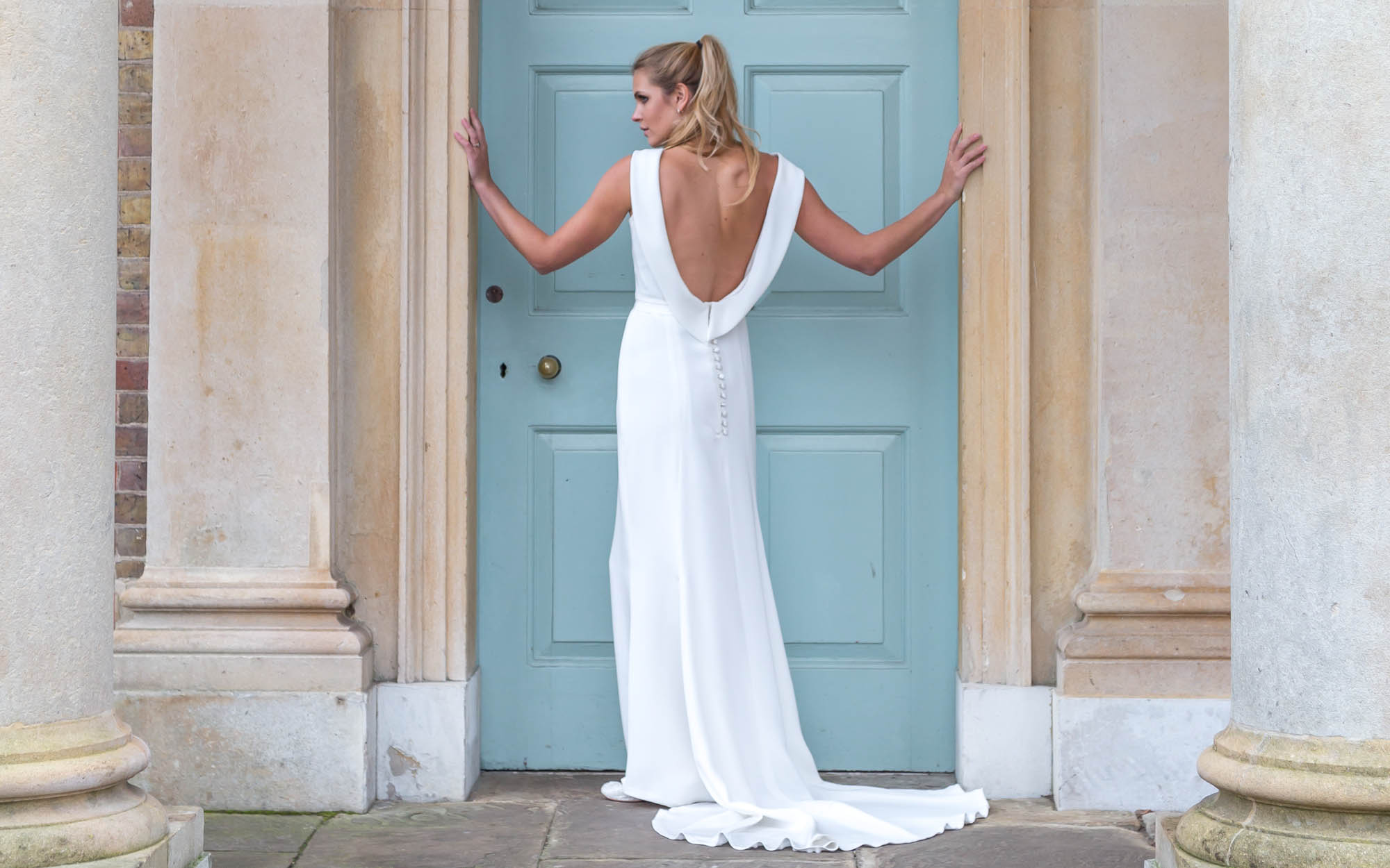 Louise Selby, the award-winning wedding dress designer