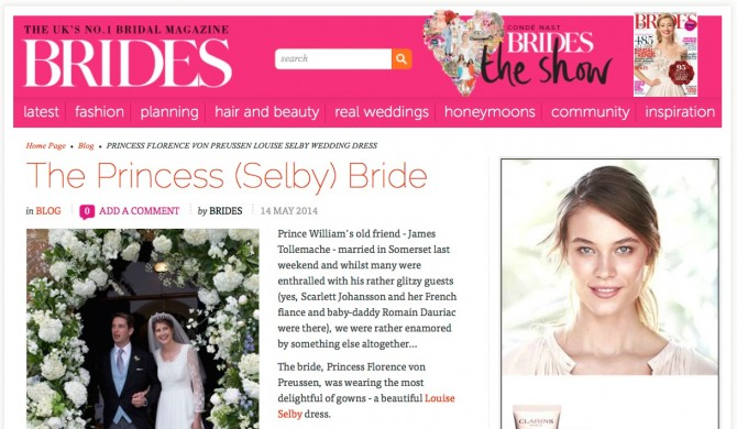 Louise Selby Wedding Dress Richmond Press