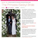 Louise Selby Brides Magazine feature
