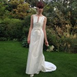 Louise Selby Wedding Dress zibeline Real Bride