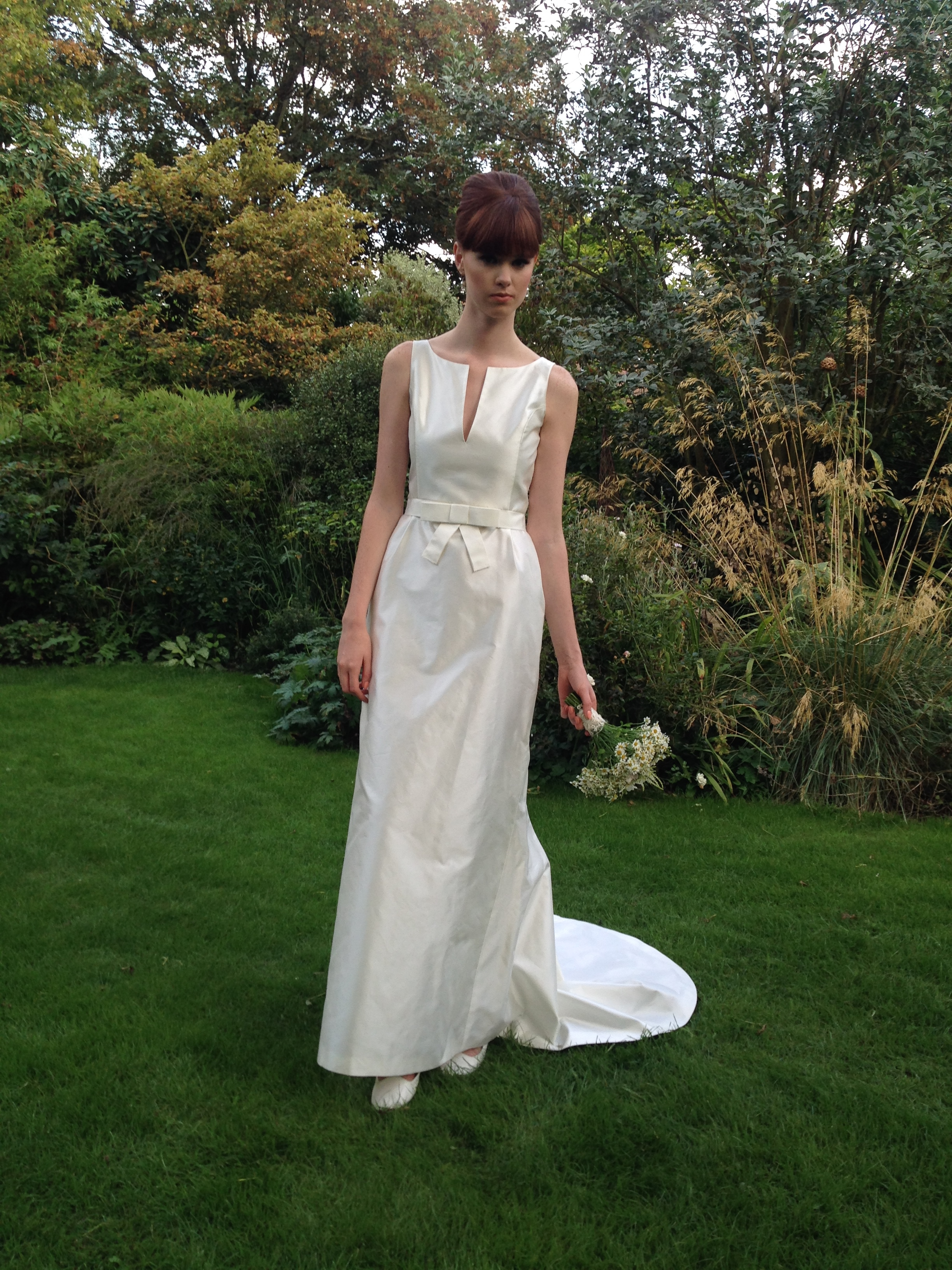 Louise Selby Wedding Dress Fulham Real Bride Louise Selby