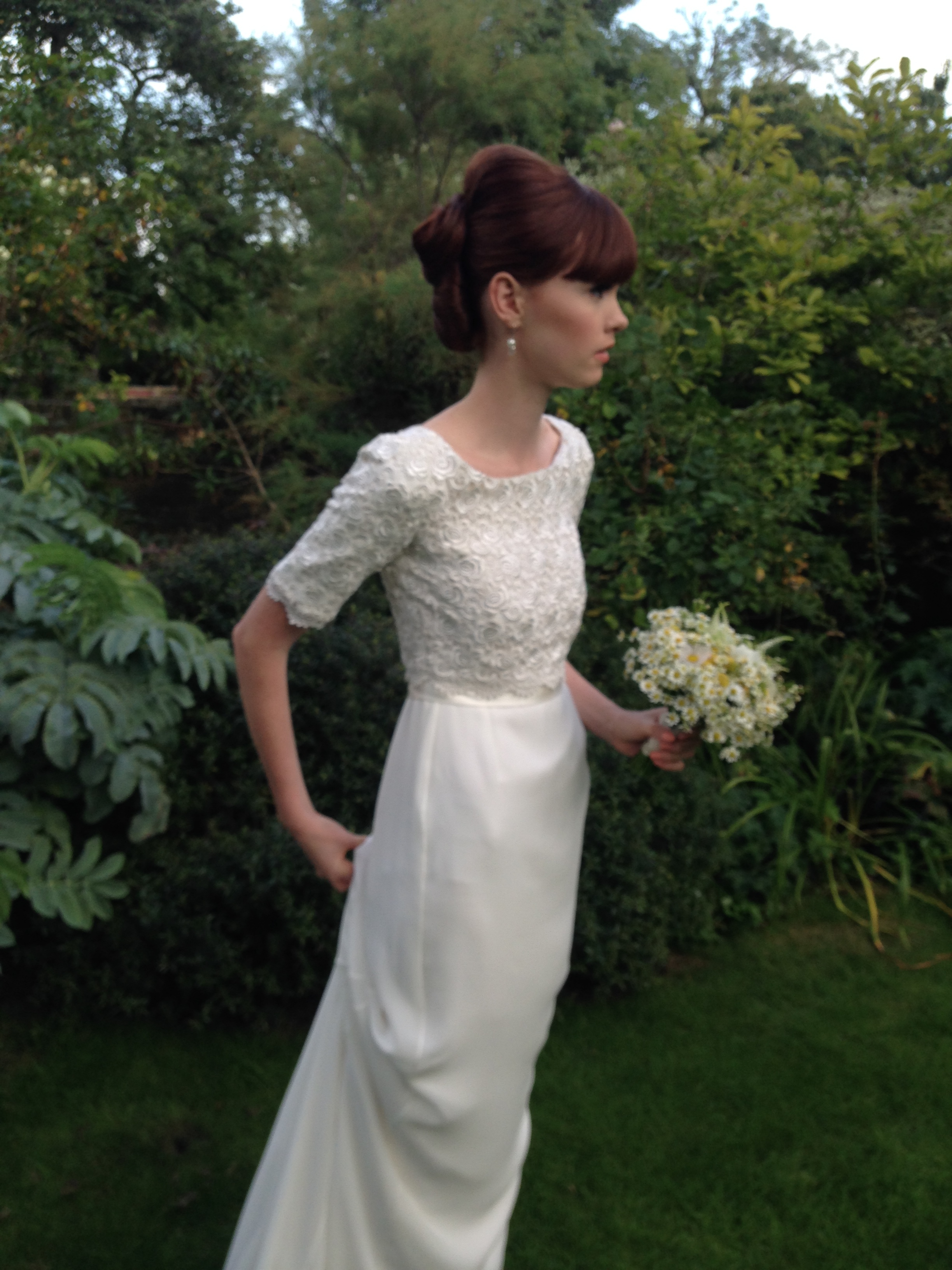 Louise Selby Wedding Dress Kew Mimosa @ Louise Selby