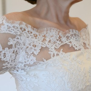 Mistletoe Lace Jacket by Louise Selby