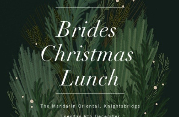Most coveted invitation; the Brides Christmas Lunch!