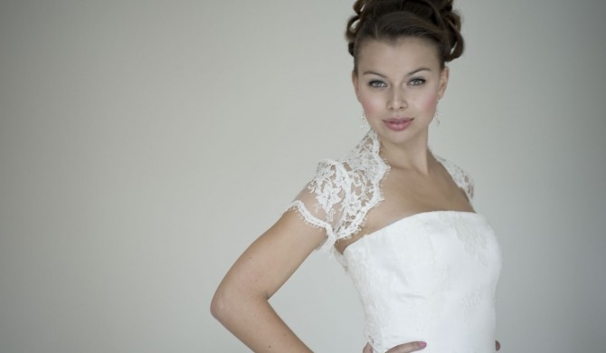 Louise selby sample sale wedding dress