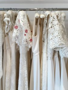 Wedding dress designer London